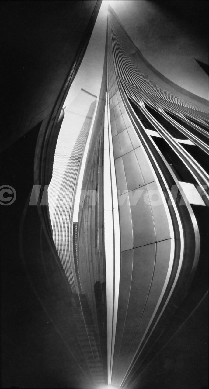 W.T.C.no.10/New-York/1987/32x60cm