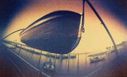 The-boat/Hamburg/1985/60x32cm