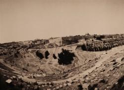 View-over-old-city/Jerusalem/1984/55x40cm