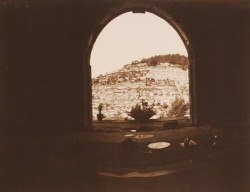 Window-in-Ein-Kerem/Jerusalem/1984/60x50