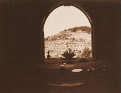Window-in-Ein-Kerem/Jerusalem/1984/60x50