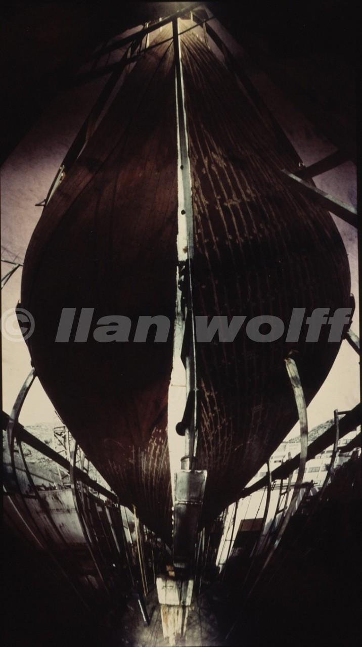 The boat/Almeria/1991/60x32cm