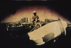 Fisherman-in-harbour2/Almeria/1991/60x35cm