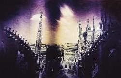 Milano-catedral/1991/60x32cm