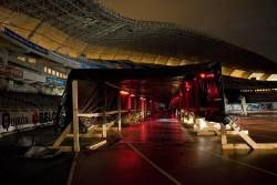 Lunagram tunnel construction