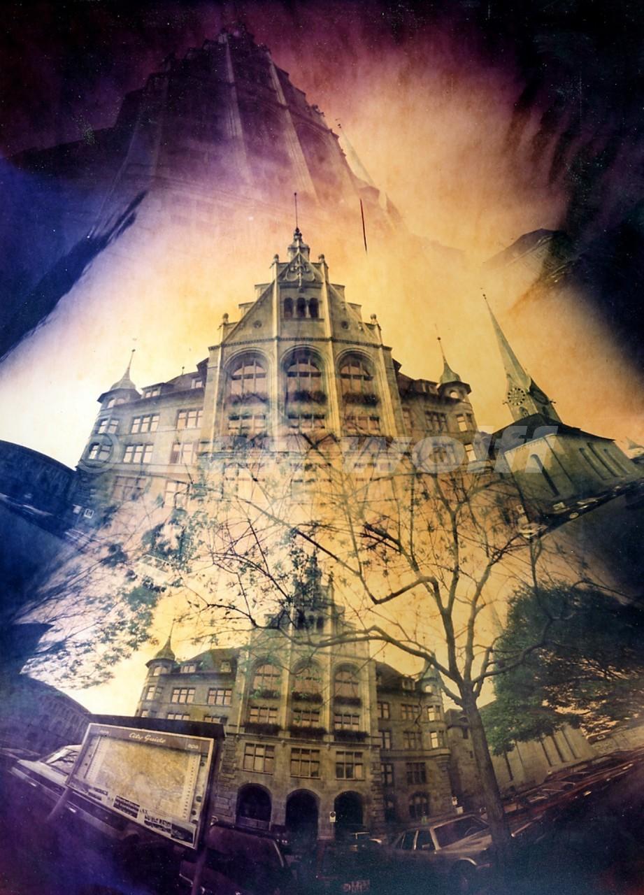 Zurich-city-hall1/1996/30x24cm