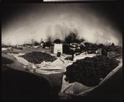 life-in-desert-Negev-4/Israel/1984/55x45cm
