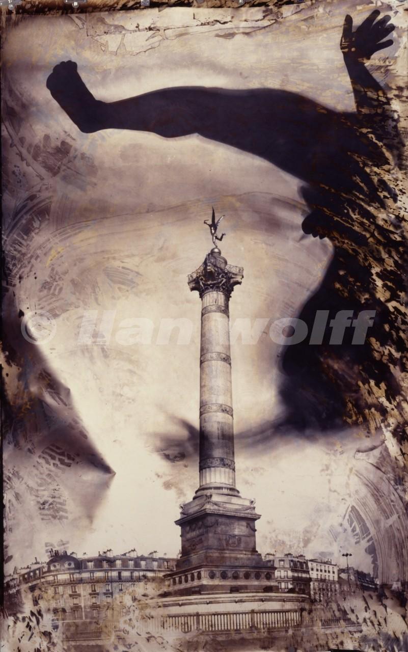 Pl.-de-la-Bastille/Paris/1997/190x125cm