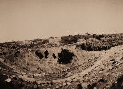 View-over-old-city/Jerusalem/1984/55x40cm